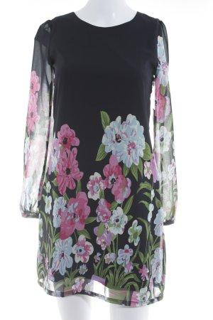Yumi Langarmkleid florales Muster Elegant