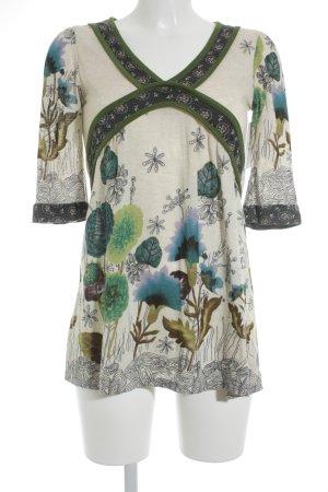 Yumi Longshirt florales Muster Casual-Look