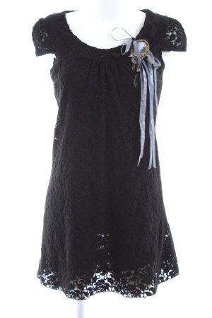 Yumi Top long noir-gris clair style décontracté