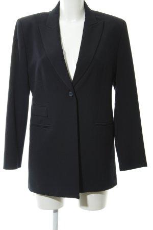 YUMI MAZAO Blazer largo azul oscuro estilo «business»