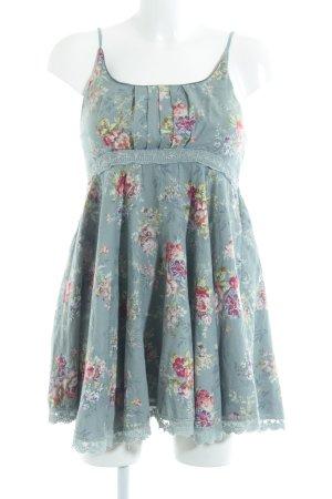 Yumi Minikleid Blumenmuster Casual-Look