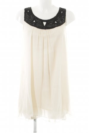 Yumi Minikleid nude-schwarz Elegant