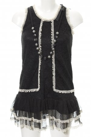 Yumi Minikleid schwarz-weiß Elegant
