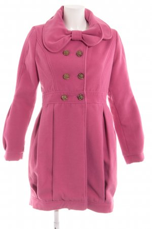 Yumi Outdoorjacke pink Casual-Look