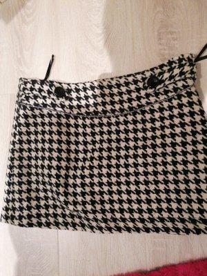 Yumi Wool Skirt black-cream