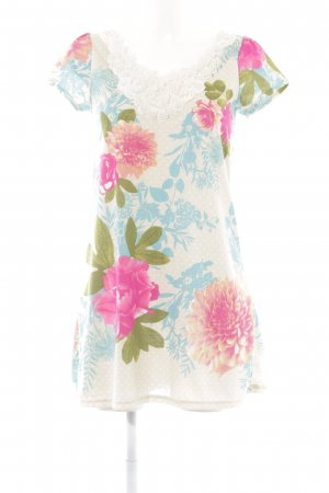 Yumi Shirtkleid florales Muster Casual-Look