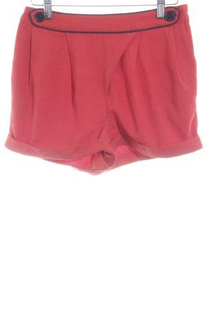Yumi Shorts rot Casual-Look