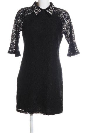 Yumi Spitzenkleid schwarz Elegant