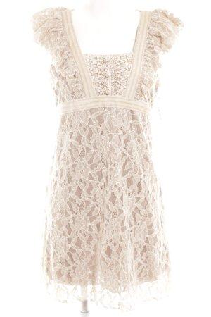 Yumi Spitzenkleid beige Romantik-Look