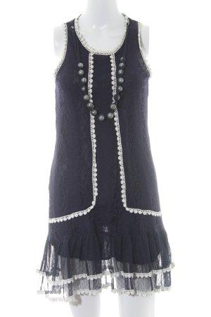 Yumi Spitzenkleid dunkelblau Romantik-Look