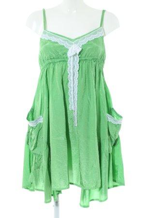 Yumi Trägerkleid grün Elegant