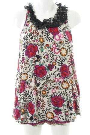 Yumi Trägerkleid florales Muster Casual-Look