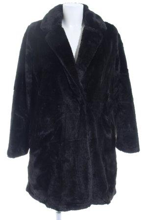 Yumi Wintermantel schwarz Elegant