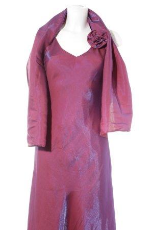 Yves Calin Abendkleid violett Elegant
