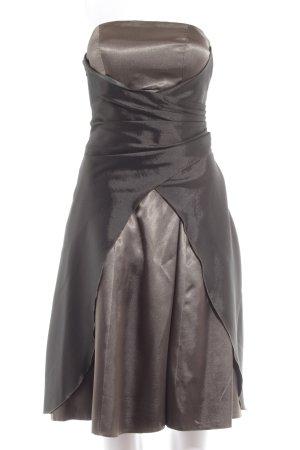 Yves Calin Corsagenkleid khaki Elegant