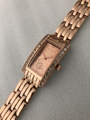 Analog Watch rose-gold-coloured
