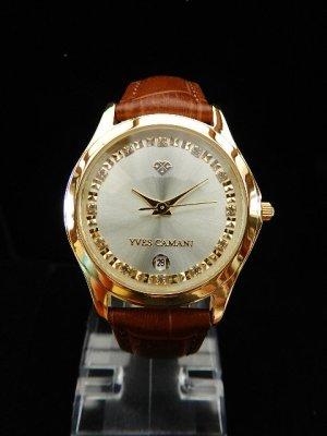 Reloj analógico color oro acero inoxidable