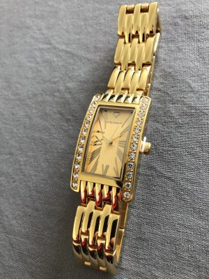 Yves Camani Watch With Metal Strap gold-colored stainless steel