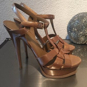 Yves Saint Lauren Tribute Plateau Sandals Gr. 38,5 - TOP