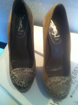 "Yves Saint Laurent 140MM ""TRIBUTE TWO"" PUMPS"
