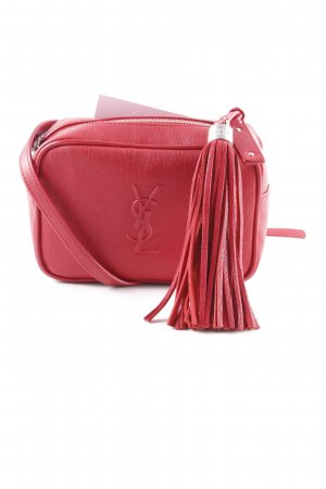 "Yves Saint Laurent Buiktas ""Centure Fanny Pack Rouge Eros"" donkerrood"