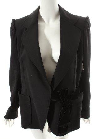 Yves Saint Laurent Blazer schwarz Eleganz-Look