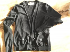 Yves Saint Laurent Cardigan aus reiner Wolle