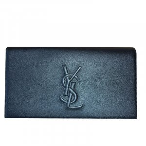 Yves Saint Laurent Clutch aus Leder