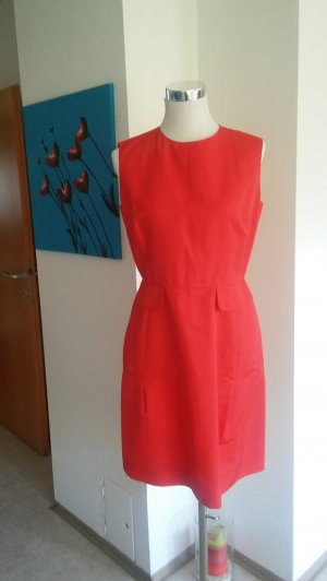 Yves Saint Laurent Cocktailkleid feuerrot