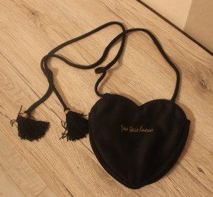 Yves Saint Laurent Herz Tasche Fransen Kordel Bag