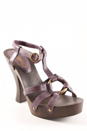 Yves Saint Laurent High Heel Sandal multicolored party style