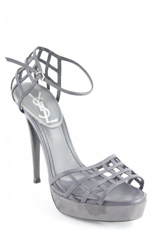 Yves Saint Laurent High Heels grau Elegant