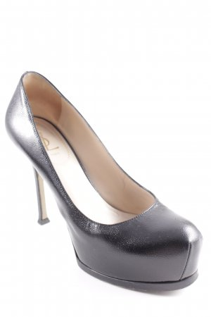 Yves Saint Laurent High Heels schwarz Elegant