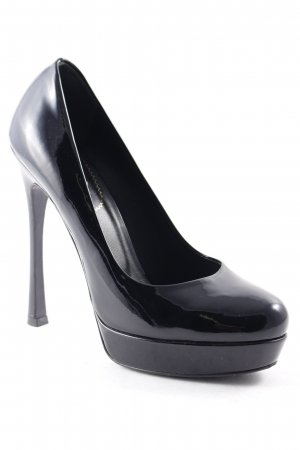 Yves Saint Laurent High Heels schwarz Elegant