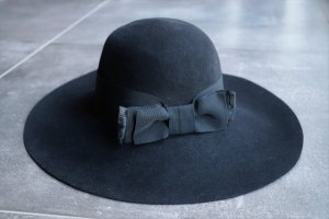 Saint Laurent Chapeau en laine multicolore