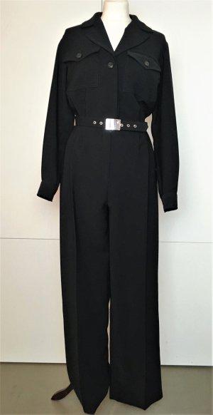 Yves Saint Laurent Traje de pantalón negro Poliéster