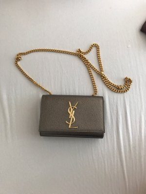 Yves Saint Laurent Borsetta mini bronzo-oro