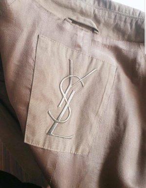 Yves Saint Laurent Gabardina beige
