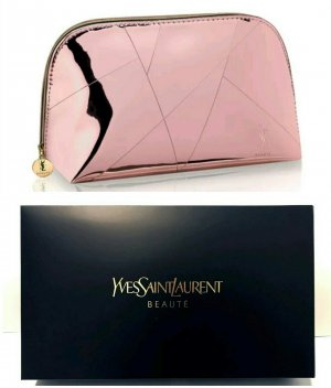 Yves Saint Laurent  Metal Pink Pouch/ Clutch Mini Tasche - NEU / OVP