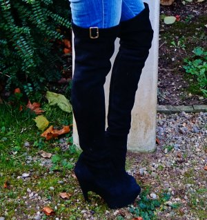 Yves Saint Laurent Over Knee Stiefel 100% Original