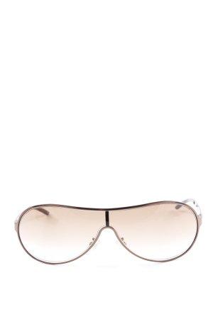 Yves Saint Laurent Pilot Brille bronzefarben