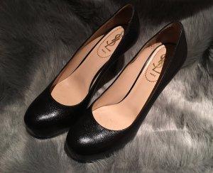 YVES SAINT LAURENT Pumps Gr. D 37,5 Schwarz Damen Schuhe Tribtoo High Heels