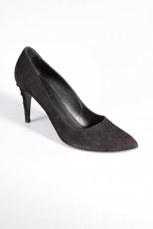 Yves Saint Laurent Pumps schwarz Nieten-Detail