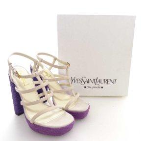 Yves Saint laurent riemchen sandaletten gr. 38
