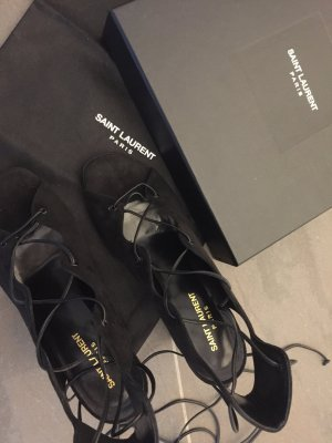 Yves Saint Laurent Sandals black