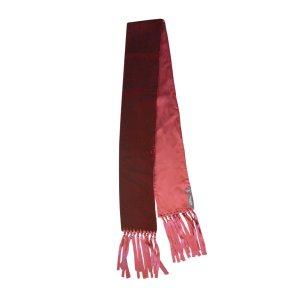 Yves Saint Laurent Silk Scarf bordeaux silk