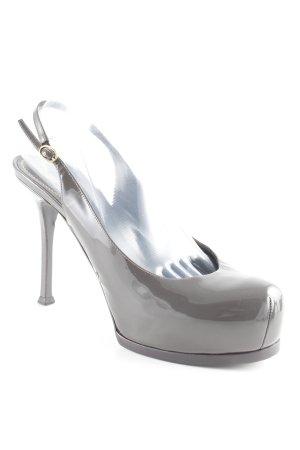 Yves Saint Laurent Slingback pumps taupe elegant