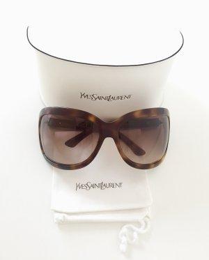 YVES SAINT LAURENT Sonnebrille, braun-marmoriert