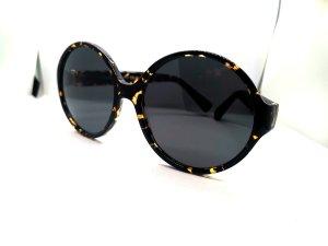 Yves Saint Laurent Round Sunglasses black-brown