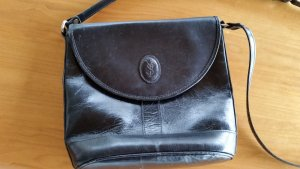 Yves Saint Laurent Tasche Handtasch IT-Bag Vintage schwarz Leder